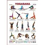 spectrum Polypropylene Yogasana Chart 6 -Inversions