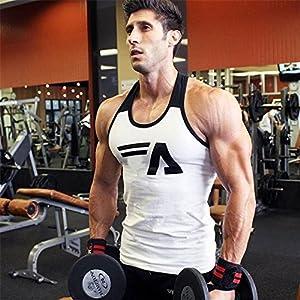 NBX Fitness-Weste Bodybuilding Basketball Männer Sleeveless Stretch schweißabsorbierende Atmungsaktive Weste