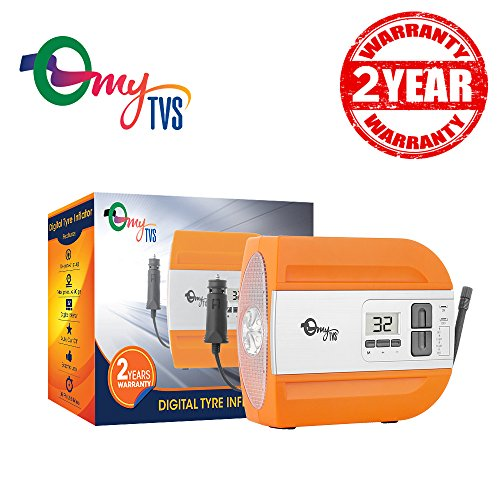 mytvs digital auto cut off fastest car tyre inflator in-built led torch (2yr warranty) myTVS Digital Auto Cut Off Fastest Car Tyre Inflator in-built LED Torch (2Yr Warranty) 51z9HI0mMOL