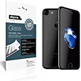 dipos Panzerglasfolie Antireflex matt iPhone 7 Plus (Vorder- und Rückseite) Schutzfolie Kunststoffglas 9H