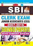 #2: SBI Clerk Exam Junior Associates (CSS) 2007-2016 Solved Papers - 2119