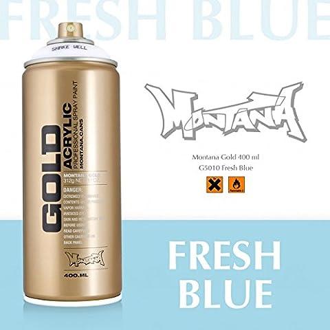 Montana Série Gold, 5010Fresh Blue, 400ml sprühdose