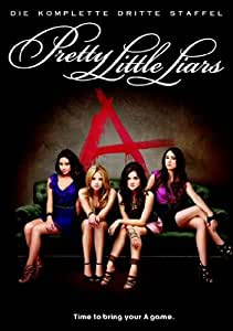 DVD * Pretty Little Liars - Die komplette 3. Staffel (Box Set / 6 Discs) [Import anglais]