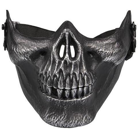 Crazo Táctica Máscara de Cráneo Calavera Protector para Airsoft Paintball Militar