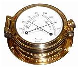 Schiffs Thermometer / Hygrometer 120 mm Bullaugen - Look