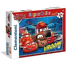 Clementoni 23669 - Maxi Puzzle Cars: Vroom!, 104 Pezzi
