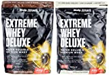Body Attack Extreme Whey Deluxe, Chocolate + Vanille, 1800 g, 2 Stück