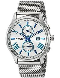 Akribos XXIV Reloj de cuarzo Man AK905SS 45 mm