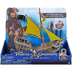 Piratas del Caribe el barco de Jack Sparrow.
