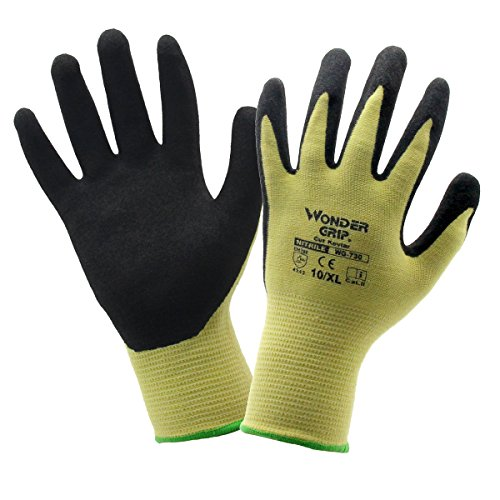 evilandat Wonder grip WG 730 Cut Guanti in Kevlar sicurezza in