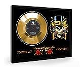 Guns N Roses November Rain Framed Goldene Schallplatte Display Vinyl (C1)