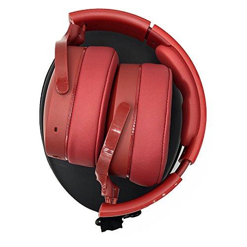 für Skullcandy S6HTW-K033 Hesh 3 Hülle EVA Trage Hart Tasche Schutzhülle Kopfhörer Schutztasche Fallbeutel Aufbewahrungstasche mit Karabiner Bluetooth Wireless Over-Ear-Kopfhörer Carry Case - 3
