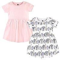 فستان للفتيات الصغيرات من Hudson Baby - قطعتين، وردي سفاري Pink Safari 18-24 Months