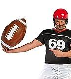 Guirca aufblasbarer riesiger Football ca. 40 - 50 cm