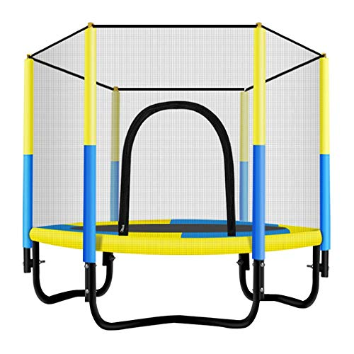 KY Outdoor Garten Trampolin Indoor/Outdoor Trampolin | Kinder Beste Geburtstagsgeschenke Gute Übung Tools Trampolin (Color : Yellow)