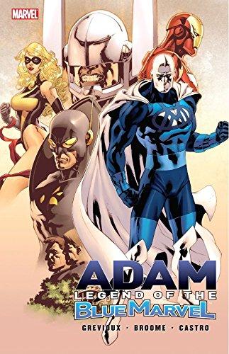 Adam, legend of the Blue Marvel