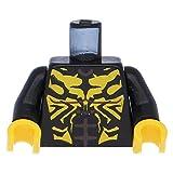 LEGO® Oberkörper SW Savage Opress Aufdruck / schwarze Arme / Schwarz