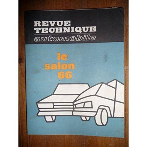Rta-revue Techniques Automobiles - Salon 1966 Revue Technique Etat - Bon Etat Occasion