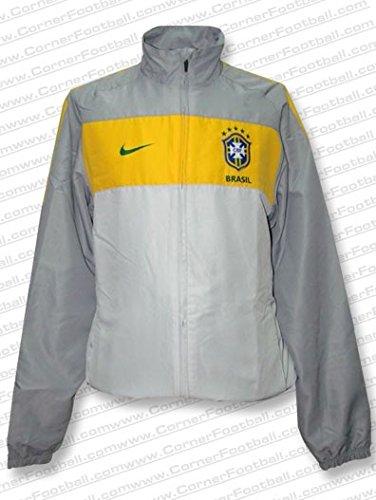Nike - Brasil Chandal Gris WC2010 Hombre Color: Gris Talla: XL