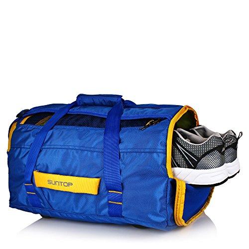 Suntop Polyester 45 Ltr Blue Sports Duffel