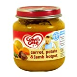 Nutricia cow & gate baby balance savoury meals jar stage 1 4+ months yummy lancashire hotpot 125g by Cow and Gate Bild
