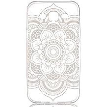 Voguecase® Para Samsung Galaxy J5, ultra-slim fit TPU Funda de Silicona de Gel Carcasa Tapa Case Cover (alfombra encaje) + Gratis aguja de la pantalla stylus universales