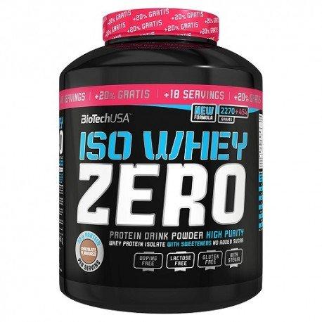 Iso Whey Zero (2.27Kg) + 20% GRATUIT BioTech USA