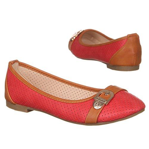 Ital-Design, Ballerine donna Rosso (rosso)