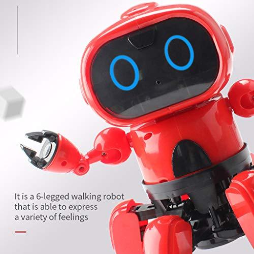 Mitlfuny Kawaii Langsam Dekompression Creme Duftenden Groß Squishy Spielzeug Squeeze Spielzeug,Geste Sensing Follow-Modus Infrarot Hindernisvermeidung Intelligente RC Roboter Spielzeug