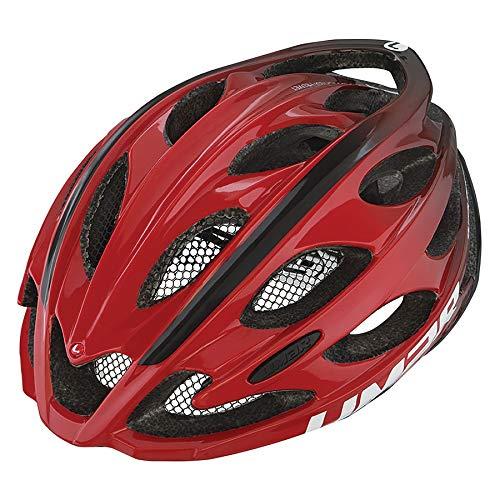 Limar Fahrradhelm Ultralight+ rot/schwarz Gr.L(57-61cm) (1 Stück)