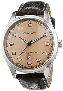 Tendedero time para hombre-reloj analógico de cuarzo cuero W71302 de GANT TIME