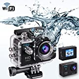 Indigi® HD 1080P Sports DV Action Kamera Camcorder 3,8 cm LCD HDMI WiFi Version für iPhone 6 6 + Galaxy S6 S5 Note 4