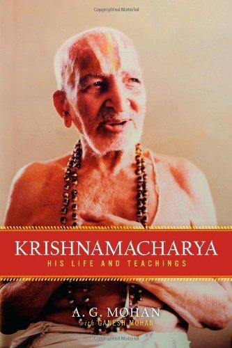 Portada del libro Krishnamacharya: His Life and Teachings by A.G. Mohan (2010-07-13)