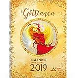 Göttinnen-Kalender 2019: Tischkalender -