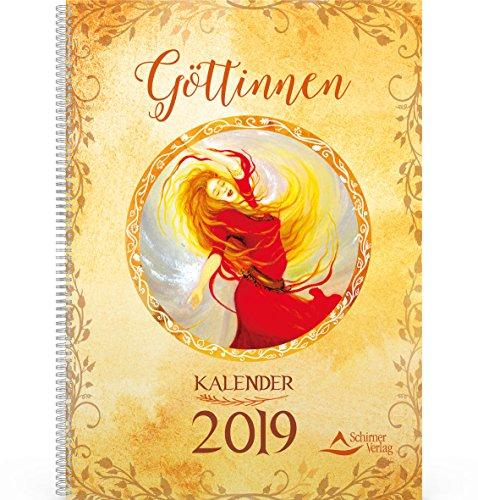 Göttinnen-Kalender 2019: Tischkalender