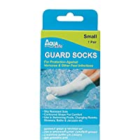 AquaSafe Guard Swimming Verucca Socks - Beige, Medium