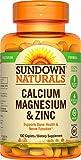 Calcium Magnesium and Zinc, 100 Caplets by Rexall Sundown Naturals