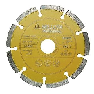 Bellota 50711-115 Disco Diamante General DE Obra. SEGMENTADO. Pro 7 Laser 115MM