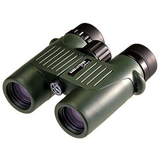Barr & Stroud Sahara 10x32FMC Binoculars 10x Magnification, 32mm Durchmes Serm, Waterproof up to 1.5m Green