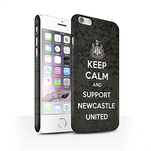 Officiel Newcastle United FC Coque / Clipser Matte Etui pour Apple iPhone 6 / Pack 7pcs Design / NUFC Keep Calm Collection Soutien