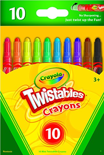 Crayola 52-9715 Mini Twistables Crayons 10 PACK by Crayola