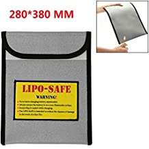 Sacchetto ignifugo, portatile a prova di esplosione di sicurezza a prova di esplosione ricaricabile Li-Polymer Battery Bag / documenti importanti - Protezione busta di sicurezza