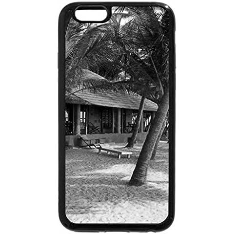 iPhone 6S Case, iPhone 6 Case (Black & White) - Beach Cottage - Beach Cottage Accessori