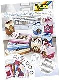 folia 976 - Geschenkschachteln, Süßes Verpacken, 9 Schachteln zum selber Basteln, ideal für selbstgemachte Naschereien und Backwaren