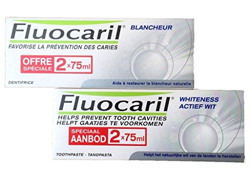 Fluocaril Duplo Pasta Blanqueadora - Pasta dientes