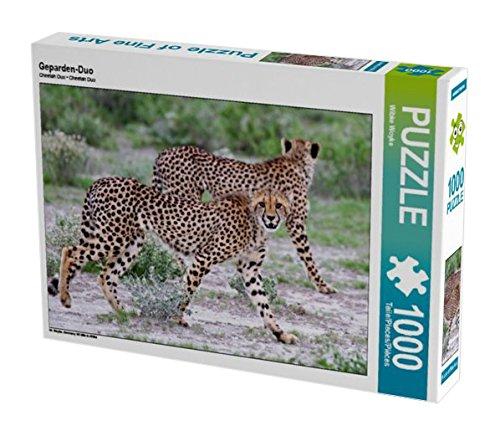 Preisvergleich Produktbild Geparden-Duo 1000 Teile Puzzle quer: Wildlife in Afrika (CALVENDO Orte)