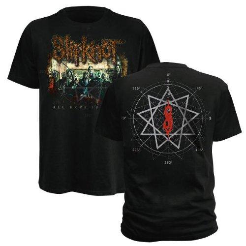 T-Shirt Slipknot Noir Vine frame S (T-Shirt taille Small)