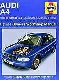 Audi A4 Petrol and Diesel Service and Repair Manual: 1995 to 2000 (Service & repair manuals) by A. K. Legg (12-Sep-2014) Hardcover