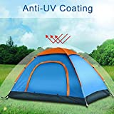 #5: 247tecksouk® Portable Picnic Camping Tent Portable Waterproof Tent Outdoor and Camping Tent (For 4-5 Person)