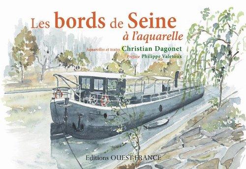 Les bords de Seine à l'aquarelle